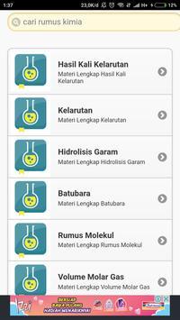Kumpulan Rumus Kimia Lengkap Offline apk screenshot