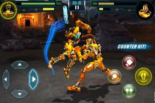 Guide For Atom Real Steel Fighting screenshot 4