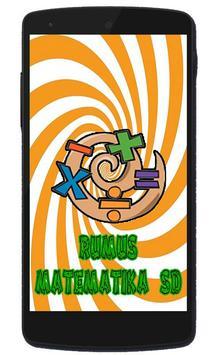 Rumus Matematika SD poster