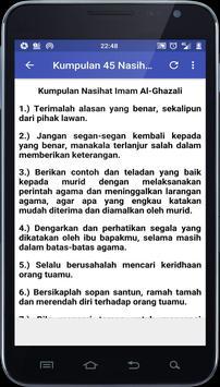 Al Ghazali Kata Bijak Wasiat dan Kisah screenshot 2