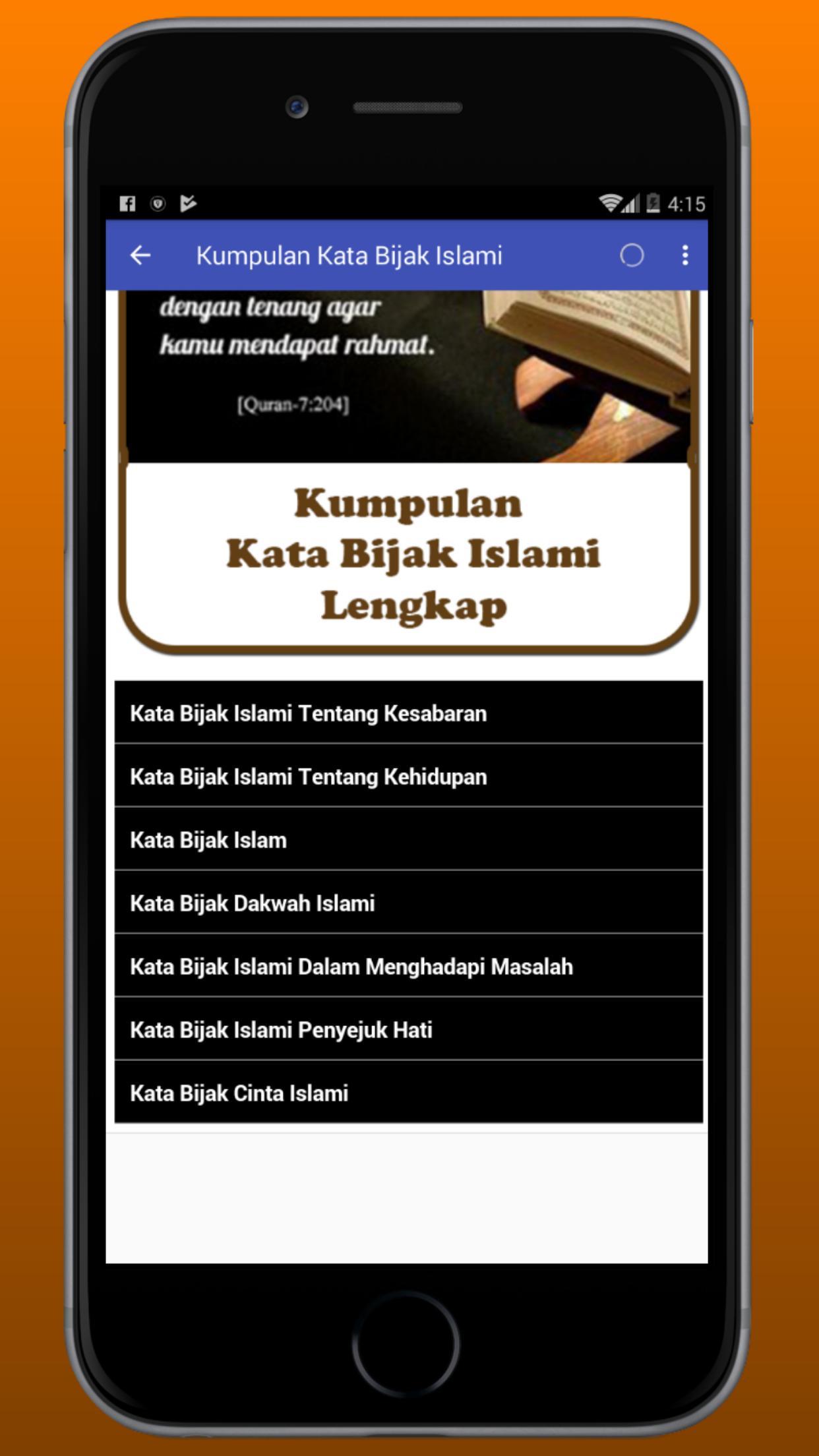 Kumpulan Kata Bijak Islami For Android Apk Download