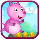 Pig Run Peppa Hopper Game icon