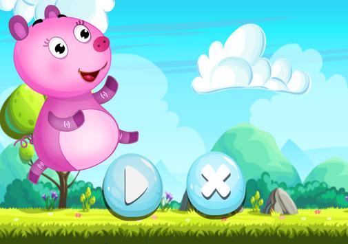 Pig Run Peppa Hopper Game poster