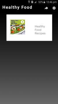 Healthy food recipes videos descarga apk gratis comer y beber healthy food recipes videos poster forumfinder Images