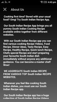 South indian recipe apk download free food drink app for android south indian recipe apk screenshot forumfinder Choice Image