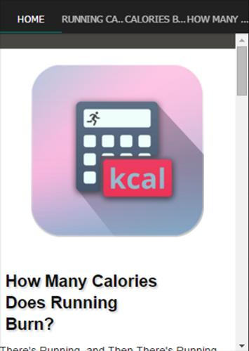Walking and running calorie calculator how many calories?
