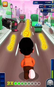 Bheem Run Adventure Dash 3D - Little Boy Run Game poster
