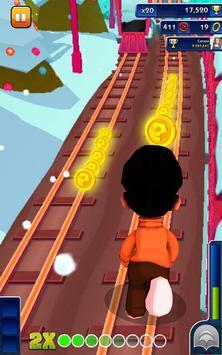 Bheem Run Adventure Dash 3D - Little Boy Run Game screenshot 1