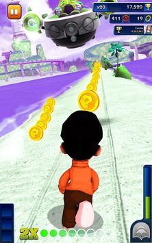 Bheem Run Adventure Dash 3D - Little Boy Run Game screenshot 2