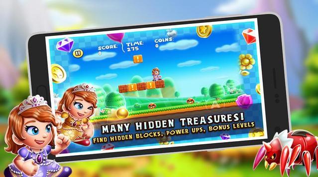Run Princess Sofia Adventure screenshot 2