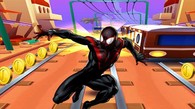 The Subway Spiderman apk screenshot