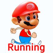 Running Mario Man 2017 icon