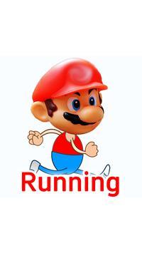 Running Mario Man 2017 poster