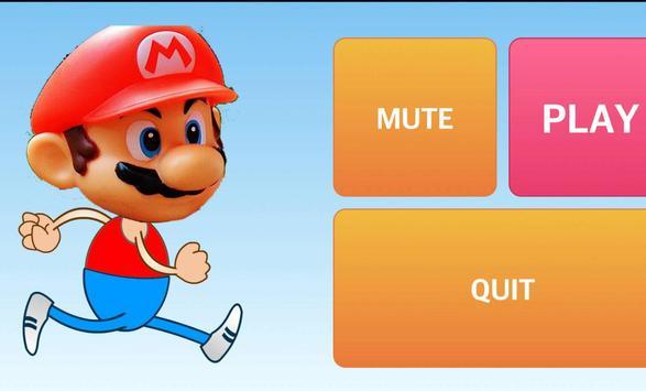 Running Mario Man 2017 apk screenshot