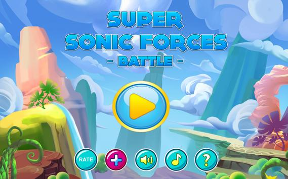 Super Sonics Force Battle poster