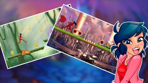Running Ladybug The Hero Cat apk screenshot