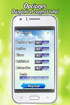 Baraja de Lotería Mexicana apk screenshot