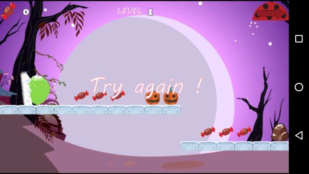 Temple Ladybug Run halloween apk screenshot