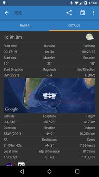 ISS Detector Satellite Tracker apk screenshot