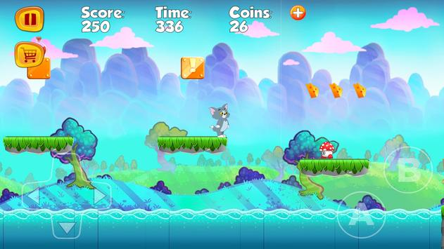 Jerry Runner Amazing Adventure apk screenshot