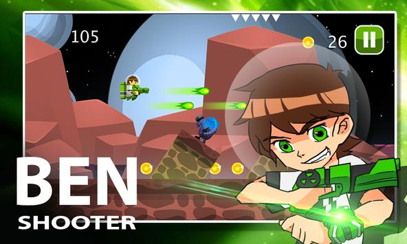 Ultimate Ben Alien 10 Shooter apk screenshot