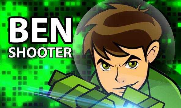 Ben Alien Ten Shooter poster