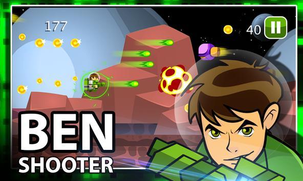 Ben Alien Ten Shooter screenshot 1