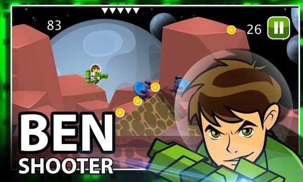 Ben Alien Ten Shooter apk screenshot