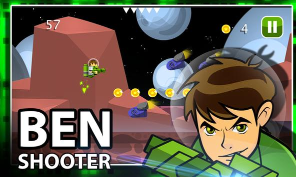 Ben Alien Ten Shooter screenshot 3