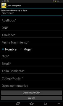 Runin.es - Validación dorsales screenshot 11