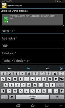 Runin.es - Validación dorsales screenshot 2