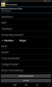 Runin.es - Validación dorsales screenshot 3