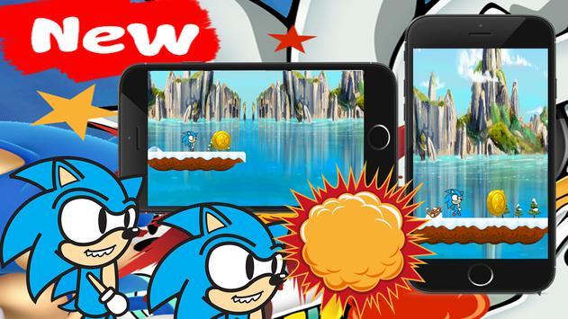 Subway sonic Adventure runing apk screenshot