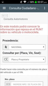 RUNT POR PLACA screenshot 1