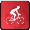 ikon Runtastic Road Bike Trails & GPS Bike Tracker