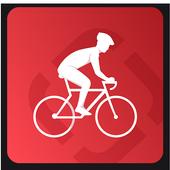 Runtastic Road Bike Trails & GPS Bike Tracker icon