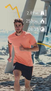 Runtastic Running App & Mile Tracker पोस्टर