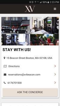 XV Beacon App poster
