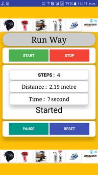New distance counter app (Run Way) screenshot 3