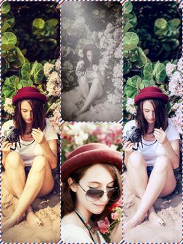 B212 - Retrica Selfie Overlay poster