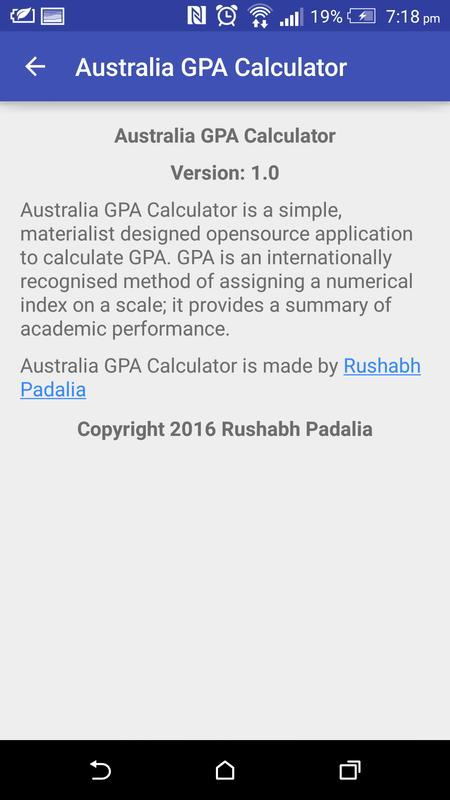 Australia gpa calculator for android apk download.