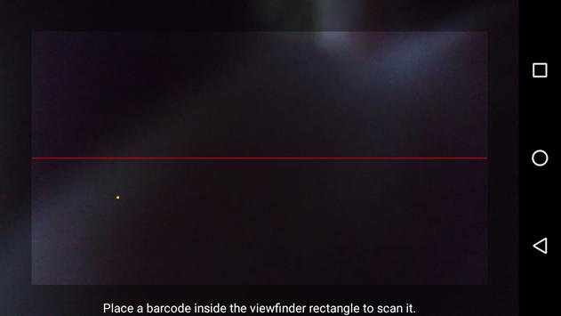 Barcode and QR-Code Scanner screenshot 1