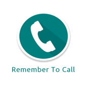 Remember To Call icon