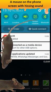 Mouse On Screen Scary Prank & Mouse in Phone Joke apk screenshot