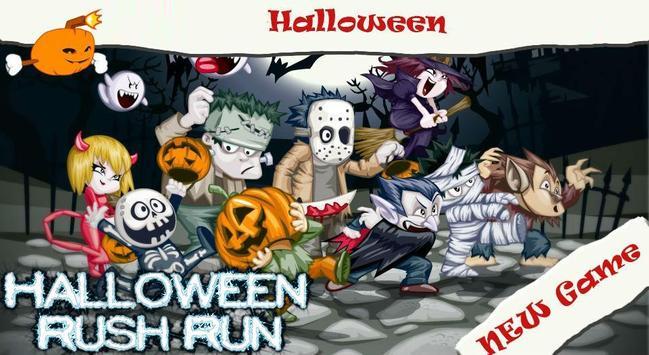 Halloween Rush Run poster