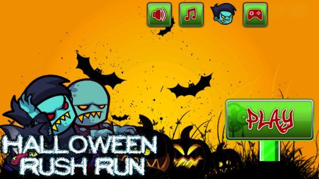 Halloween Rush Run apk screenshot