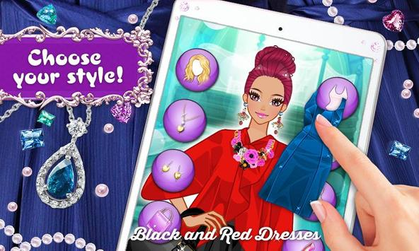 Black and Red: Exotic Dresses screenshot 5