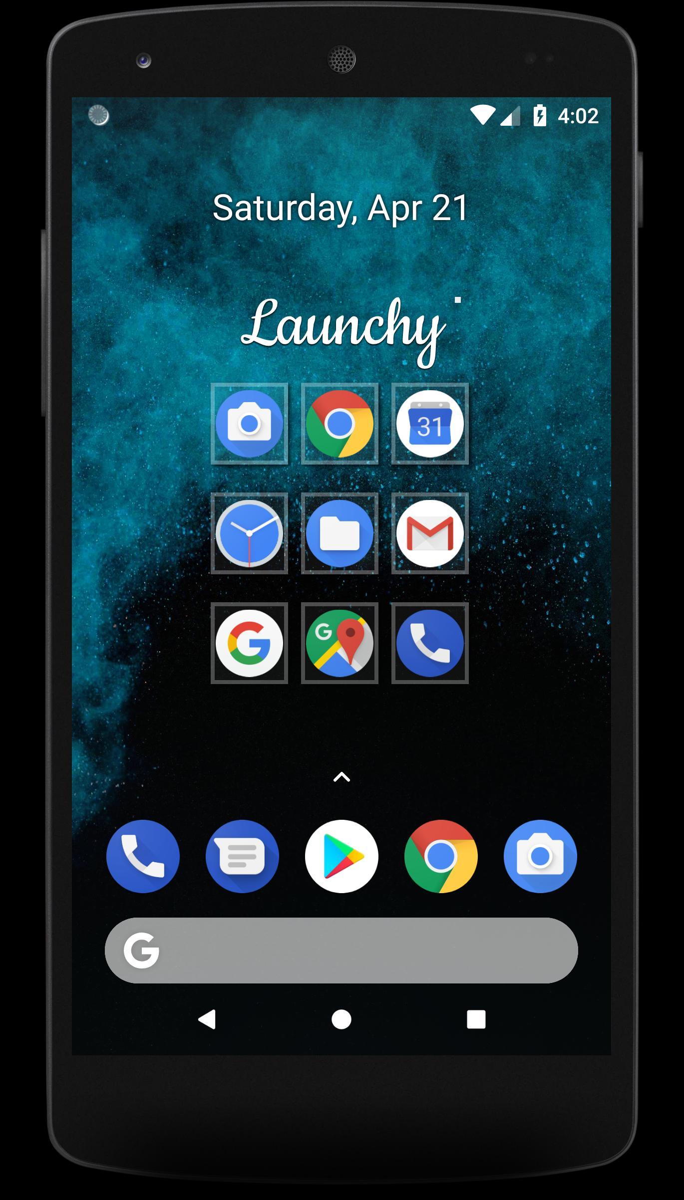 Android 用の Launchy APK をダウンロード