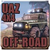 4X4 UAZ Russian SUV Off-road icon