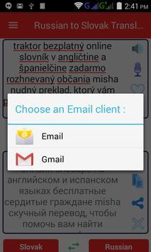 Russian Slovak Translator screenshot 7